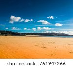 perfectsunny beach holiday | Shutterstock . vector #761942266