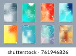abstract composition. text... | Shutterstock .eps vector #761946826