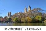 central park lake | Shutterstock . vector #761951026