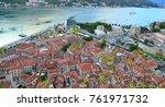 montenegro kotor town | Shutterstock . vector #761971732