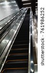 infinite escalator that causes... | Shutterstock . vector #761986252