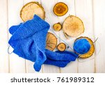 Logs Of Wood  Fabric And A...