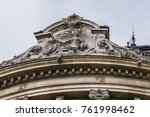 external view of architectural... | Shutterstock . vector #761998462