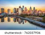 philadelphia  pennsylvania  usa ... | Shutterstock . vector #762037936