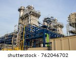 combined cycle power plant | Shutterstock . vector #762046702