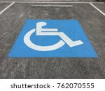 Small photo of Handicap . Disabled parking , Handicap only