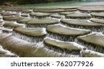 Water Stream Flow Cascade At...
