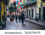 mexico   september 23  people... | Shutterstock . vector #762079075