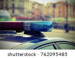 Sirens Of Police Cars During...