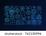 machine learning and artificial ...   Shutterstock .eps vector #762130996