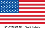 united states of america flag | Shutterstock .eps vector #762146632