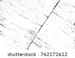grunge black and white pattern. ... | Shutterstock . vector #762172612