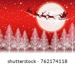 a seamless christmas background ... | Shutterstock .eps vector #762174118