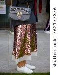 milan   september 22  woman... | Shutterstock . vector #762177376
