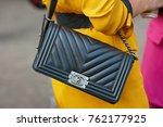 milan   september 22  woman... | Shutterstock . vector #762177925
