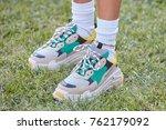milan   september 22  woman... | Shutterstock . vector #762179092