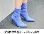 milan   september 22  woman... | Shutterstock . vector #762179326