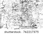 grunge black and white pattern. ... | Shutterstock . vector #762217375