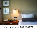 elegant and comfortable home  ... | Shutterstock . vector #762218272