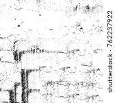 grunge black and white pattern. ... | Shutterstock . vector #762237922