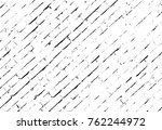 grunge black and white pattern. ... | Shutterstock . vector #762244972