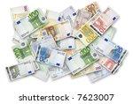 Euro Banknotes Of 200  100  50...