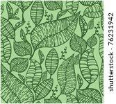 seamless wallpaper with green... | Shutterstock .eps vector #76231942