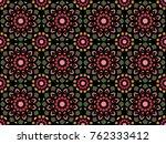 abstract oriental pattern.... | Shutterstock .eps vector #762333412