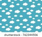 cute clouds pattern. endless...