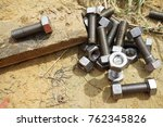 bolt and nut | Shutterstock . vector #762345826