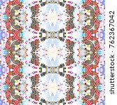 mosaic square colorful pattern... | Shutterstock . vector #762367042