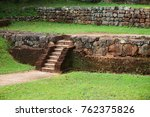 ancient brick steps in... | Shutterstock . vector #762375826