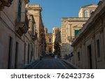 noto  italy   september 01 ... | Shutterstock . vector #762423736