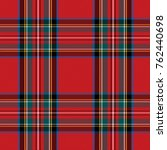 checkered pattern in scottish... | Shutterstock .eps vector #762440698