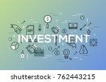 creative infographic banner...   Shutterstock .eps vector #762443215