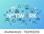 creative infographic banner...   Shutterstock .eps vector #762443242