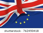 great britain flag  united... | Shutterstock .eps vector #762450418