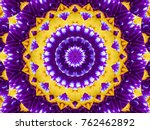 Flower Kaleidoscope Pattern...