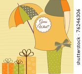 New Baby Shower Invitation With ...