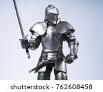 Knight In Silver Armour