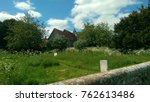 Old Church And Graveyard In An...