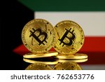 physical version of bitcoin and ... | Shutterstock . vector #762653776