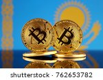 physical version of bitcoin and ... | Shutterstock . vector #762653782