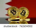 physical version of bitcoin and ... | Shutterstock . vector #762654502