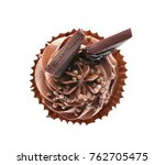 Tasty Chocolate Cupcake On...