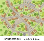 vector illustration. city top...   Shutterstock .eps vector #762711112