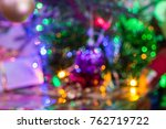 abstract christmas background... | Shutterstock . vector #762719722