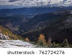 autumn and winter in the julian ... | Shutterstock . vector #762724276