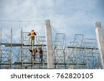 Group Of Worker In Safety...