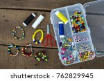 Crafts  Colored Beads ...
